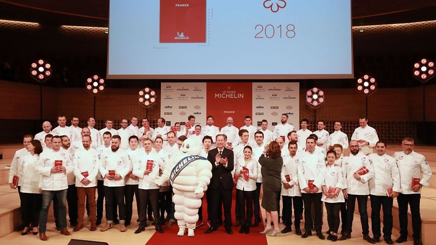 28 établissements figurent dans l'édition 2018 du guide Michelin.