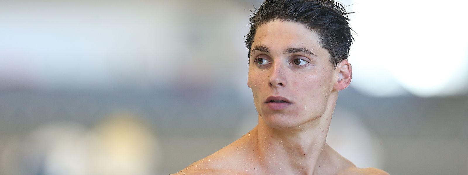 Schwimmer Julien Henx kann derzeit nicht im Wasser trainieren.