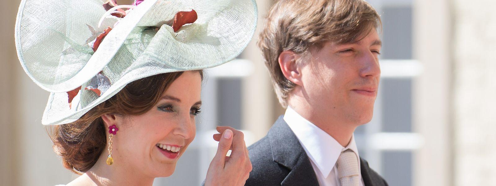 Prinz Louis und seine Frau Tessy am Nationalfeiertag 2016