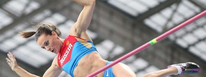 Freier Fall: Olympiasiegerin Yelena Isinbayeva und 67 weitere Leichtathleten aus Russland sind in Rio nicht dabei.