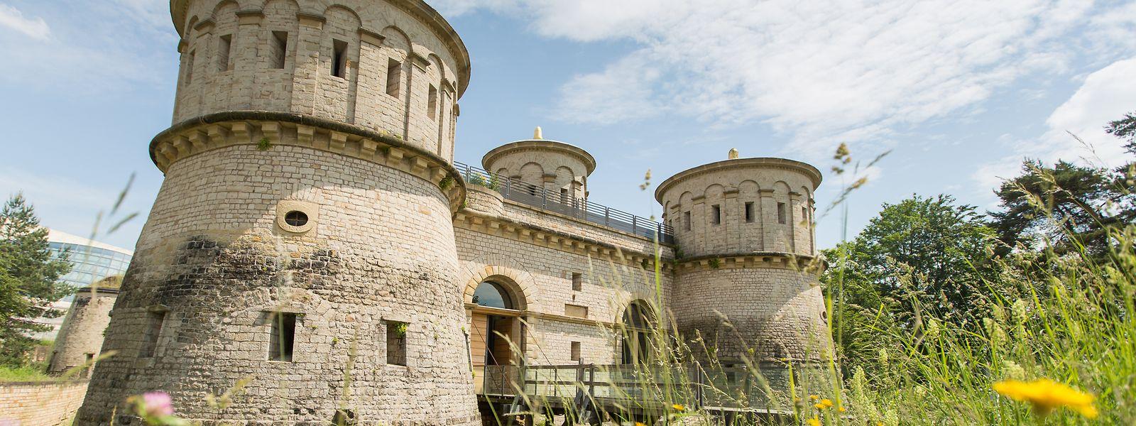 Au contraire du parc, le MUDAM et le musée de la forteresse restent ouverts.