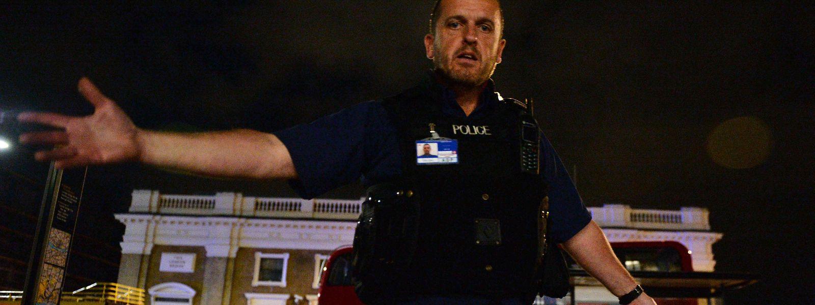 Dieses Jahr mussten in Großbritannien Polizisten immer wieder nach Terrorattaken ausrücken.