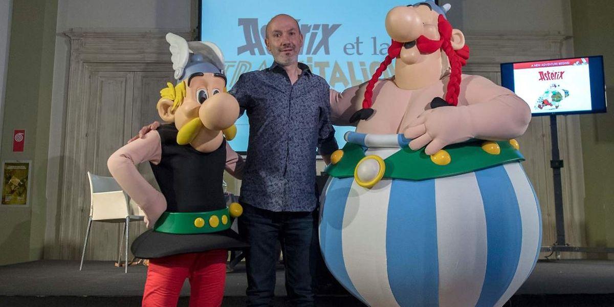 Comiczeichner Jean-Yves Ferri lässt Asterix und Obelix nach Italien reisen.