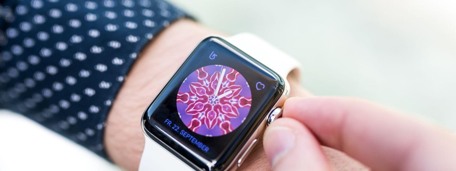 Für die Apple Watch 3 gibt es zahlreiche neue Ziffernblätter.