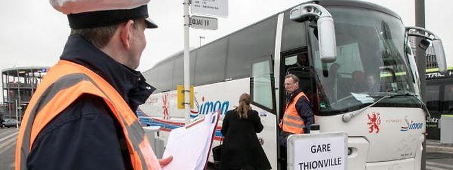 Nach dem Unglück mussten viele CFL-Kunden mit den Bussen im Ersatzverkehr vorlieb nehmen.