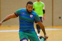 Christopher da Graça, jogador do CS Fola Futsal.