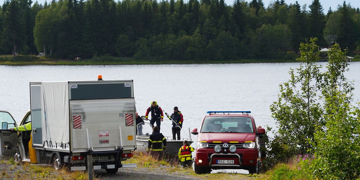 Die Maschine stürzte auf die Insel Storsandskär, knapp zwei Kilometer südlich des Flughafens.