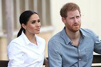 Prinz Harry und Herzogin Meghan zogen sich im März von ihren royalen Pflichten zurück.