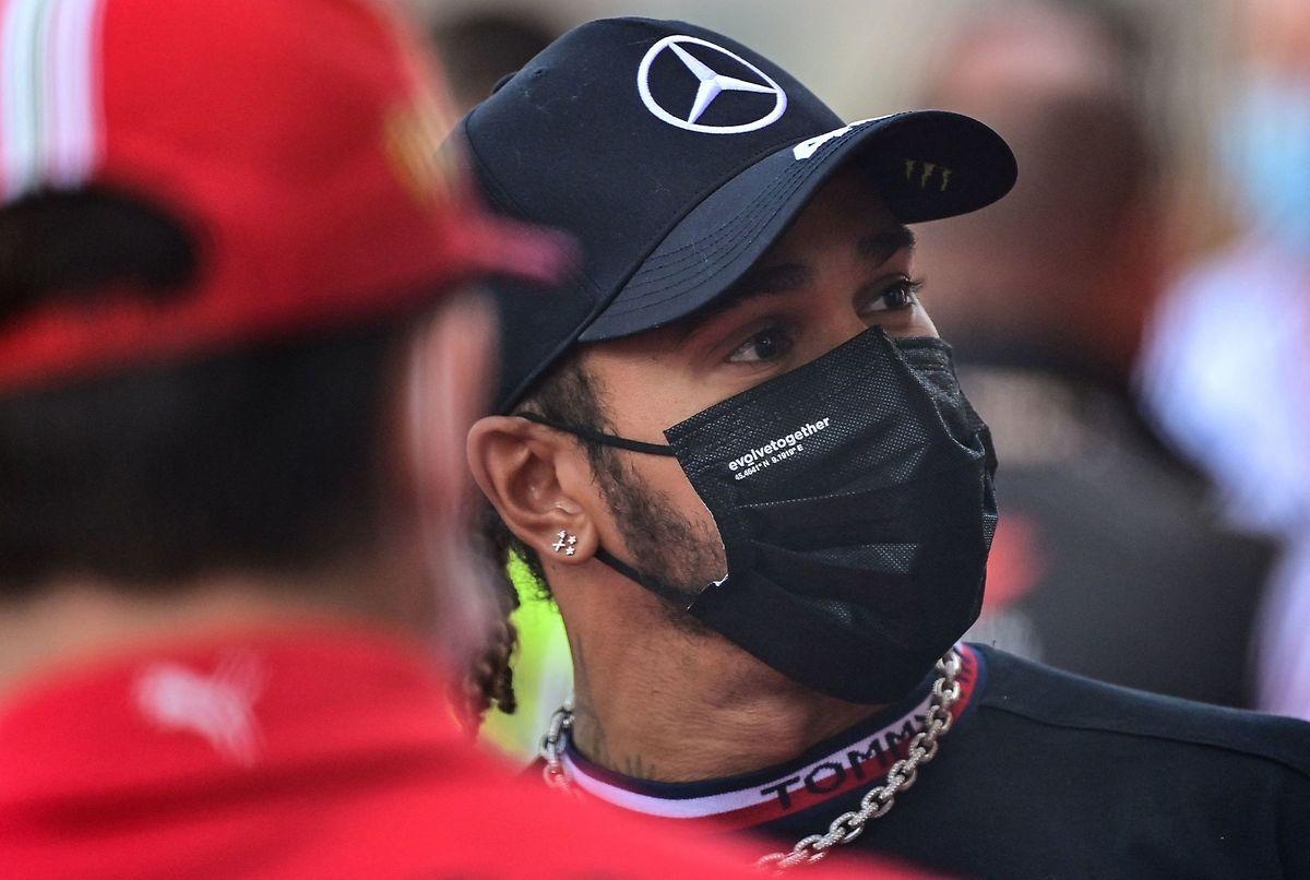 Weltmeister Lewis Hamilton ist nicht zufrieden.