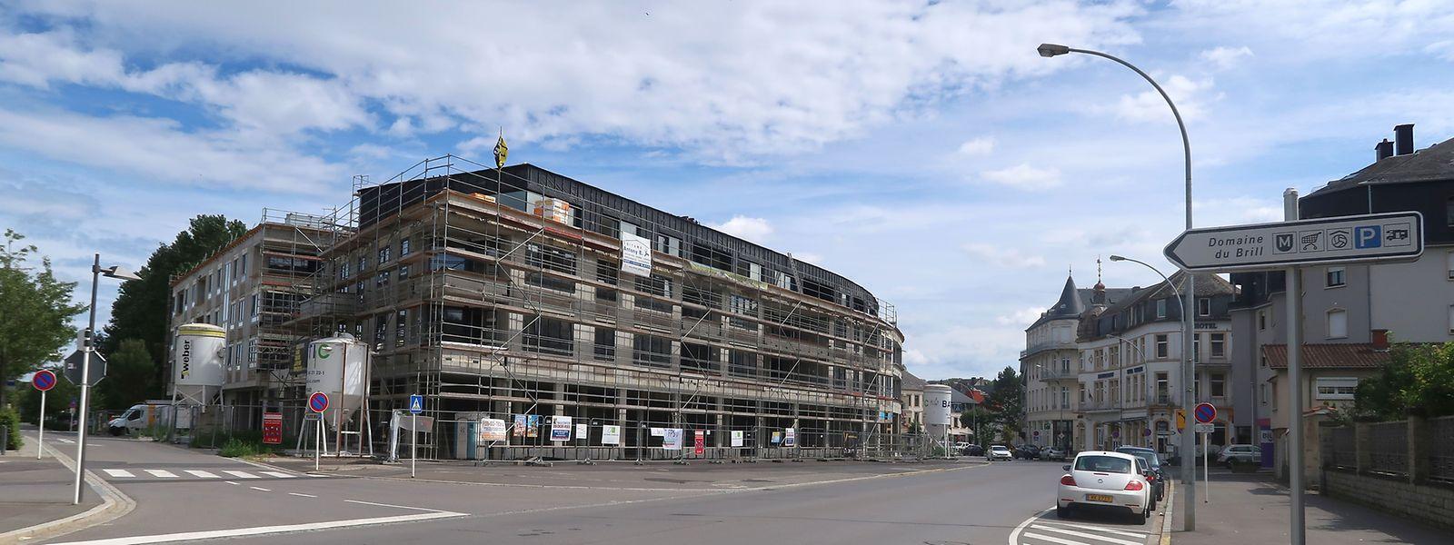 Im Zentrum von Bad Mondorf soll auch in Zukunft weiter Wohnraum geschaffen werden.