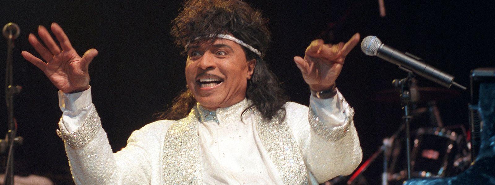 Little Richard, der «King of Rock'n'Roll», 1997 bei einem Konzert in Essen. Der amerikanische Musiker («Tutti Frutti») starb am Samstag im Alter von 87 Jahren.