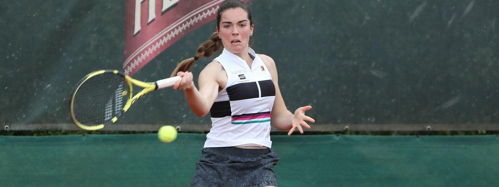 Eléonora Molinaro a remporté ses deux matches ce lundi pour se qualifier pour le tableau principal du tournoi de Wiesbaden.