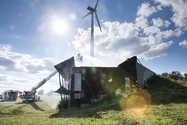 Das Jugendhaus in Remerschen - im früheren Energiepark-Gebäude - wurde am Sonntag zum Raub der Flammen.