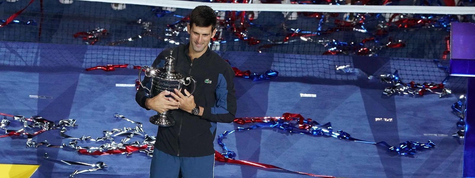Novak Djokovic ist aktuell der beste Tennisspieler auf der Tour.
