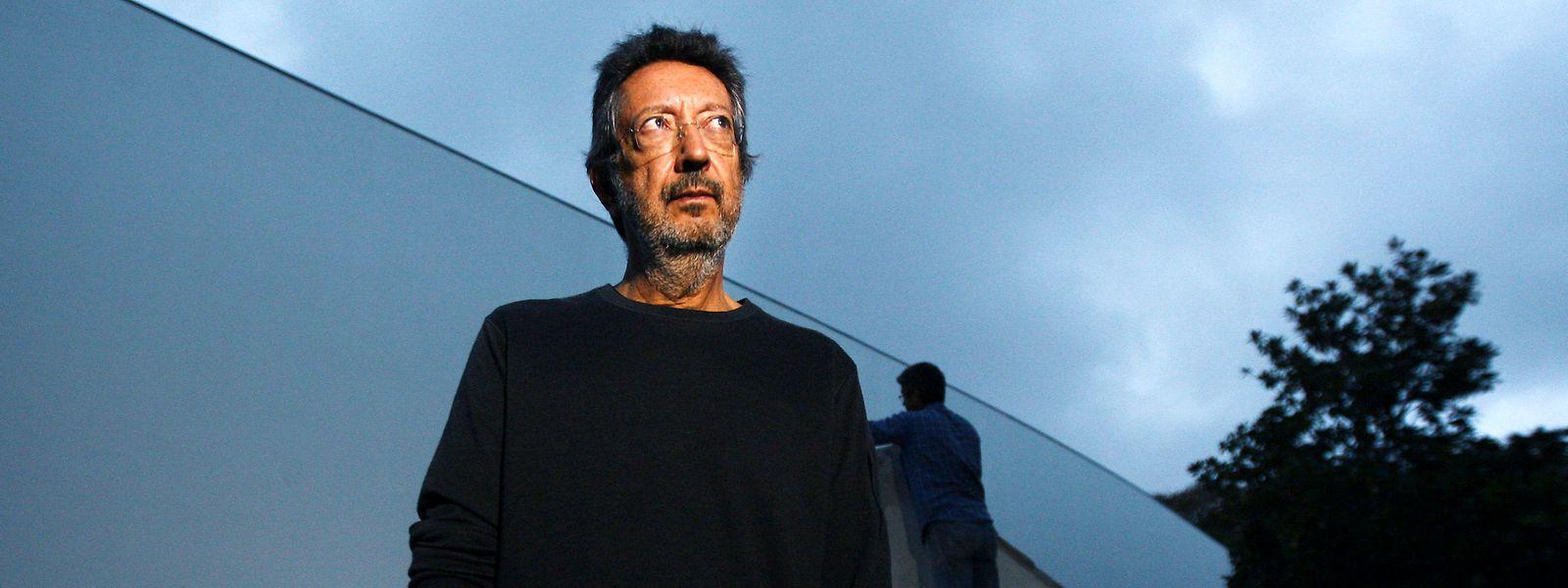 Fotografia de arquivo datada de 22 de novembro de 2012, do artista plástico Julião Sarmento.