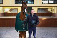 Luxtimes,Nicolas Wagner ,Olympiateilnehmer im Dressurreiten.,Pferdesport.Foto: Gerry Huberty/Luxemburger Wort