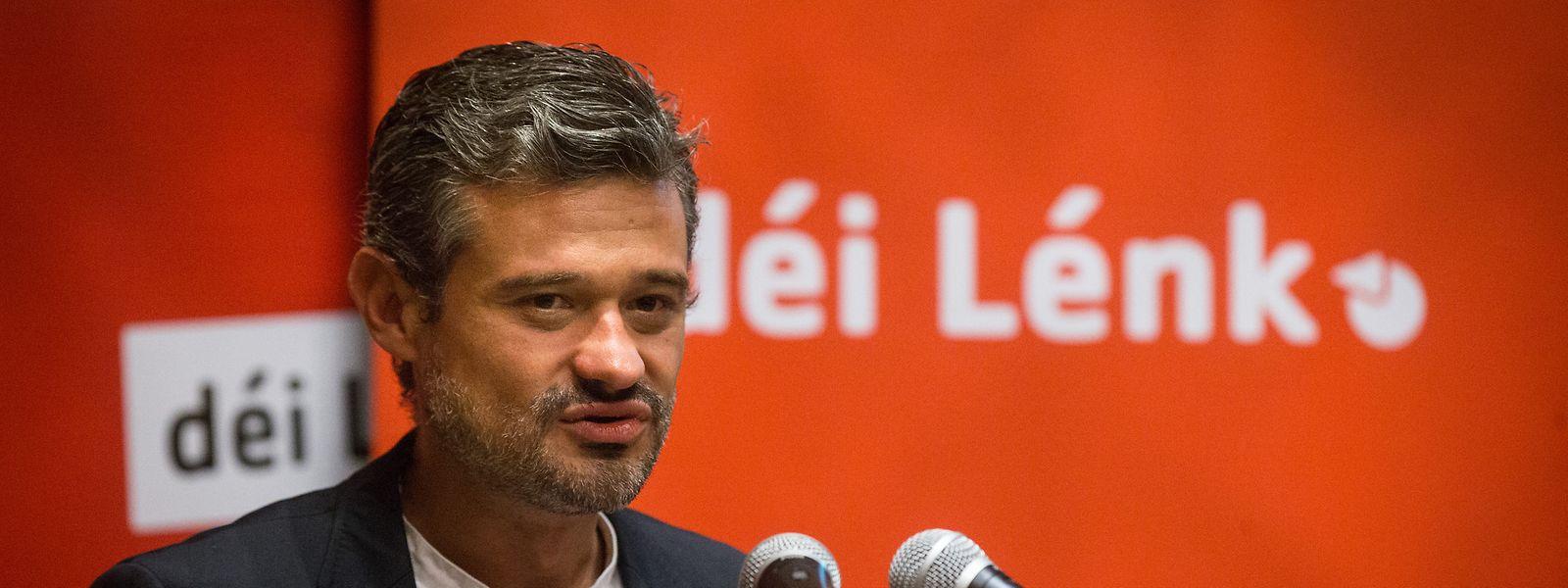 O deputado David Wagner, do Déi Lénk.