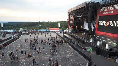 Les 87.000 festivaliers ont dû quitter le site.
