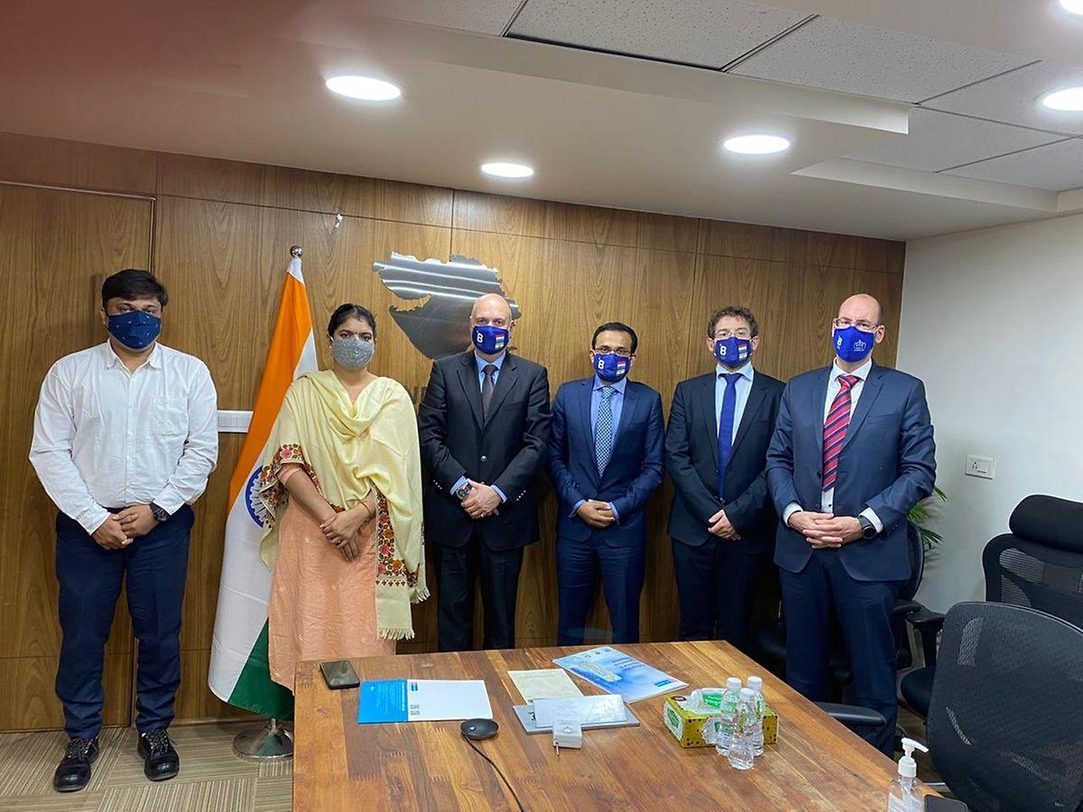 Huit transferts en avion, visite de neuf villes, 75 rencontres, 10 tests PCR réalisés : les deux semaines de visite en Inde ont été actives pour les dirigeants de B Medical Systems.