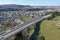 B7 Ausbau A7 bei Ettelbruck