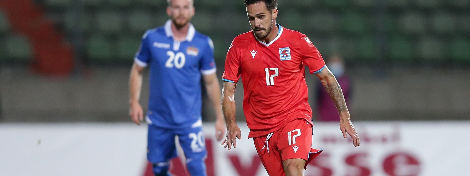 Mica Pinto, jogador da seleção