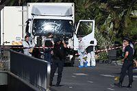 Nach dem blutigen Anschlag steht Nice unter Schock.