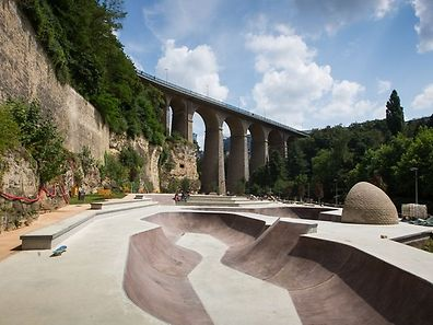 The City of Luxembourg will officially inaugurate the 2,500 m2 skatepark starting at 11am, but the day will be packed with skateboarding workshops, demos, on-site food trucks and more.