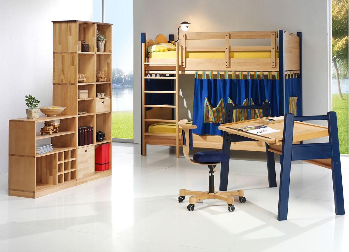 Die Stile der Kindermöbel sind verschieden, eines ist aber allen Eltern wichtig:Die Einrichtung soll schadstoffarm sein.