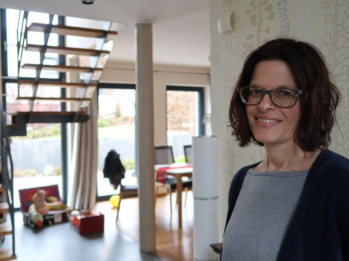 Sandra Schmitz: «On a toujours trouvé ça très bien ce concept de basse consommation énergétique».