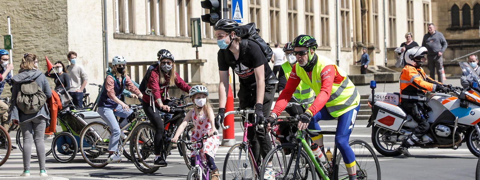 Am Samstag um 15 Uhr werden Radfahrer in der Stadt für sichere Infrastrukturen demonstrieren. Gleichzeitig findet von 9 bis 19 Uhr der Stroossemaart des Geschäftsverbandes statt.