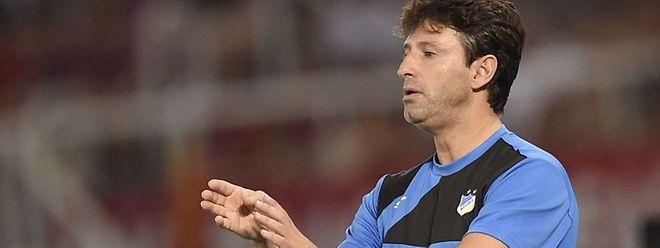 O treinador do Belenenses, Domingos Paciência.
