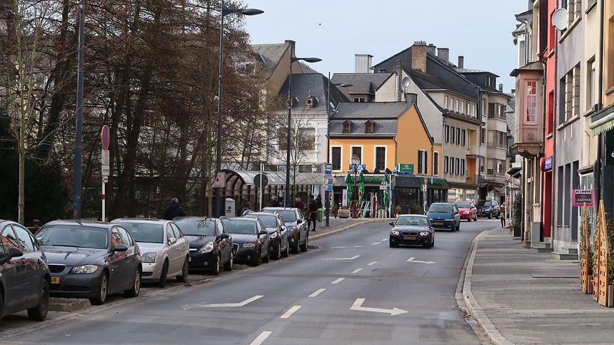 In wenigen Wochen werden die Arbeiten hier, in der Rue Prince Henri, beginnen.