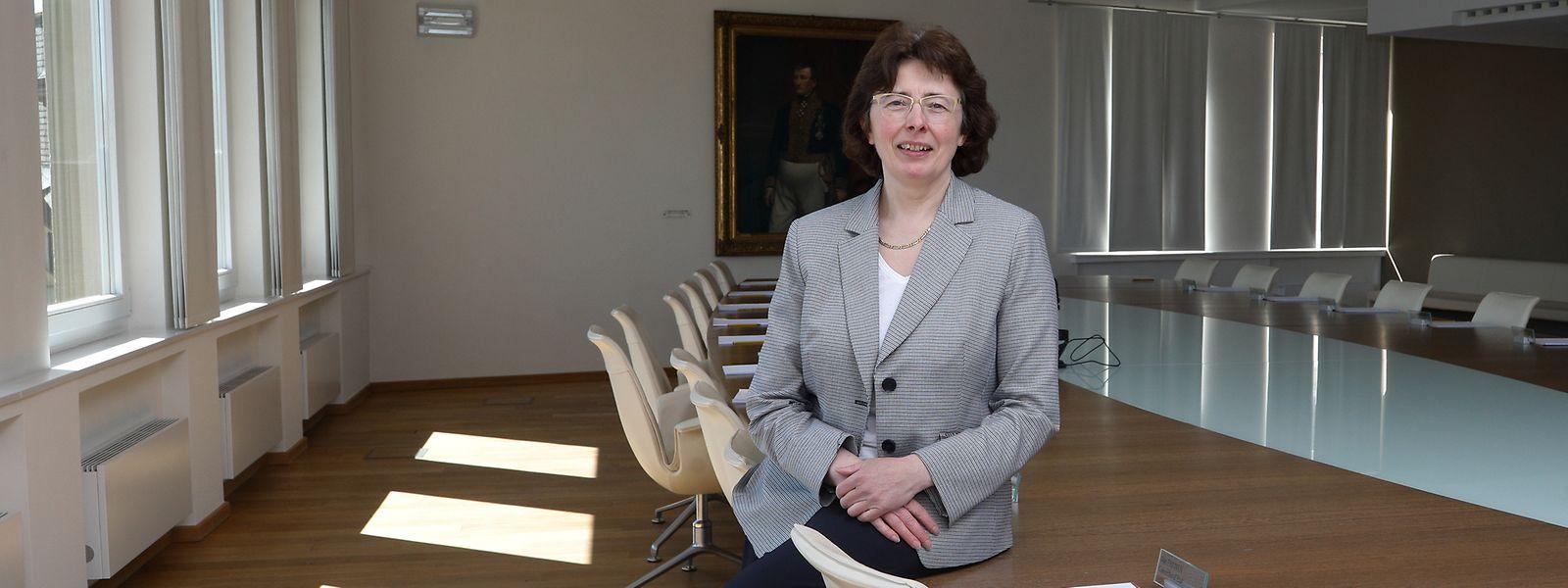 Pour Agnès Durdu, présidente du Conseil d'Etat, «il ne faut pas que le Luxembourg s'arrête de vivre».