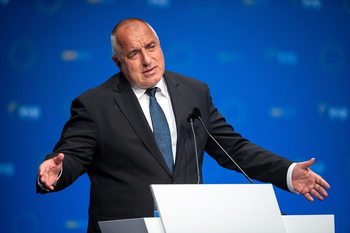 Boiko Borissow, Ministerpräsident von Bulgarien muss um seine Wiederwahl bangen.