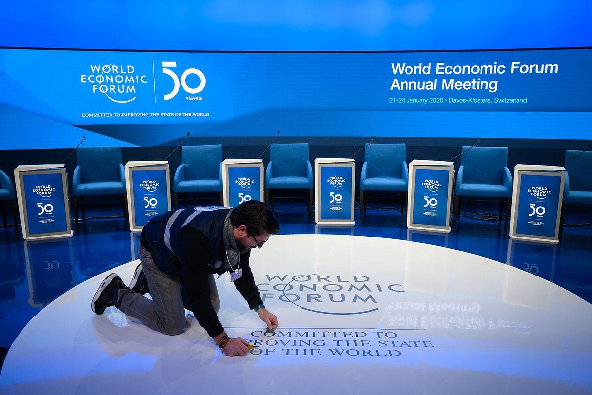 Le 50e Forum économique mondial s'ouvre mardi à Davos