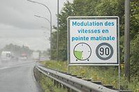 Lok , A& , Arloner Autobahn , Tempo 90 in den Morgenstunden , Foto: Guy Jallay/Luxemburger Wort