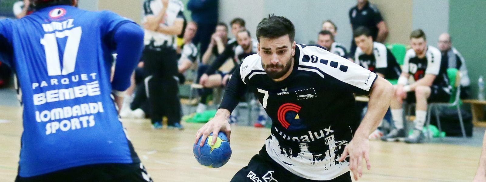 Max Kohl spielte seit 2010 in Esch.