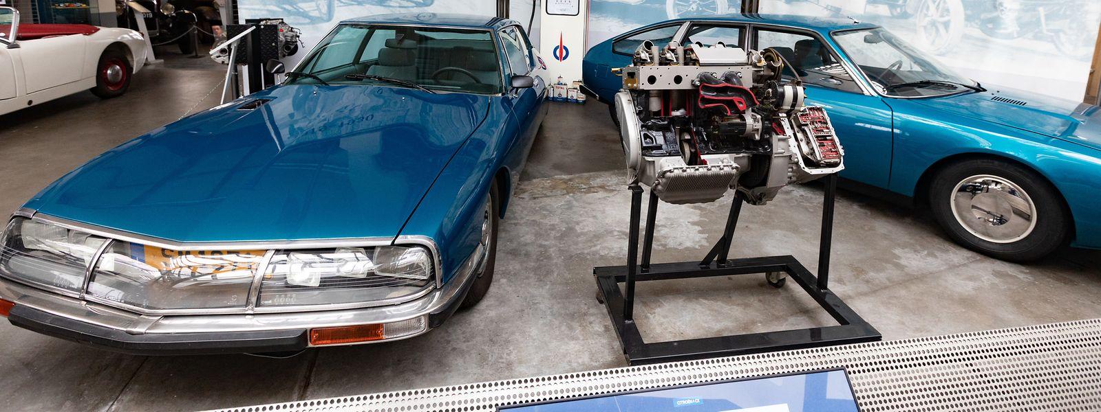 Lokales,100 Jahre Citroën - Itv Ferrari - Conservatoire National de véhicules Historiques. Foto: Gerry Huberty/Luxemburger Wort