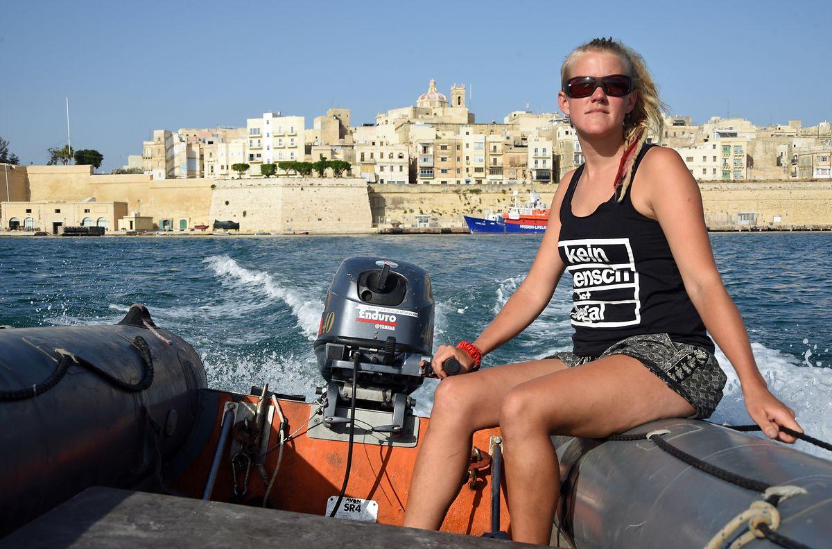 Was im Mittelmeer passiert, lässt sie nicht mehr los: Neeske Beckmann.