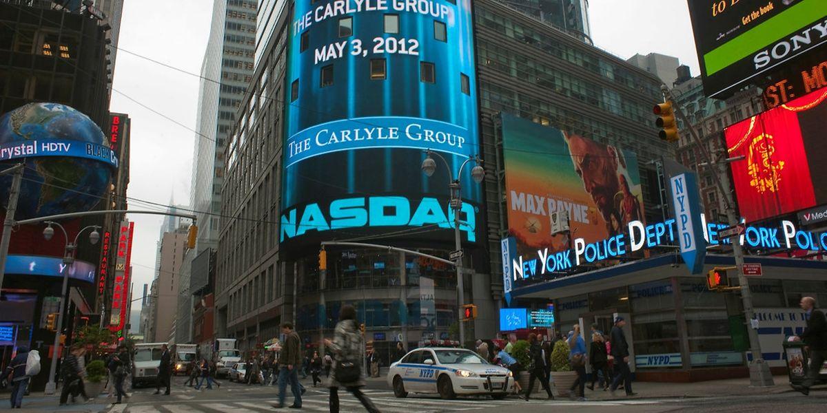 Photo d'archives de Times Square, à New York.