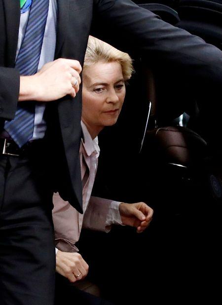 Ursula Von der Leyen forderte eine Neuverteilung der EU-Mittel.