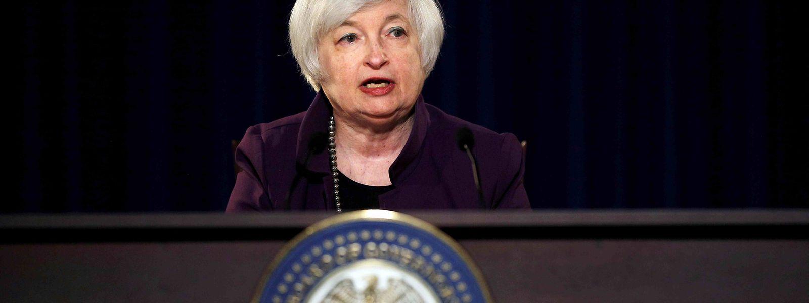 """Yellen sieht """"stärkere Argumente für eine Erhöhung der Leitzinsen""""."""