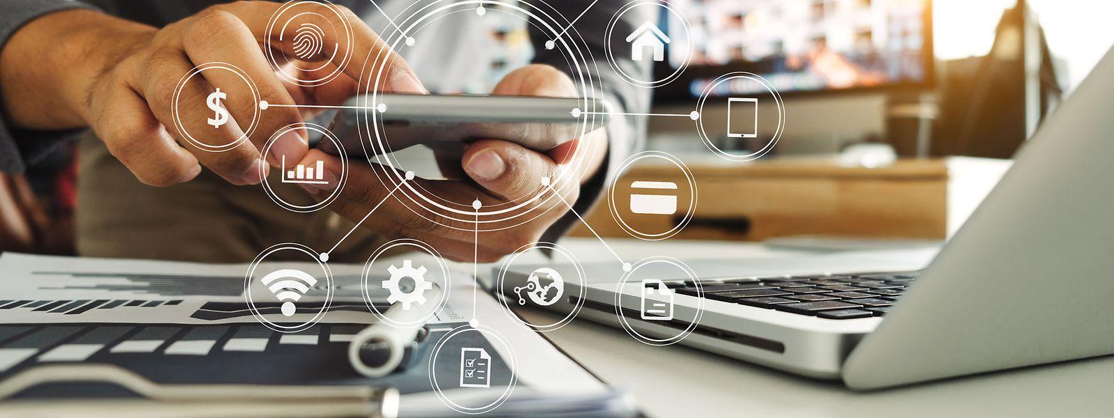 In Luxemburg nutzen 95 Prozent der Personen das Internet.
