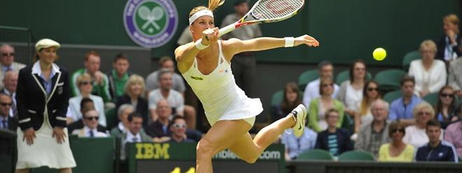 """Mandy Minella a bien négocié son entrée dans les """"qualifs"""" de Wimbledon."""