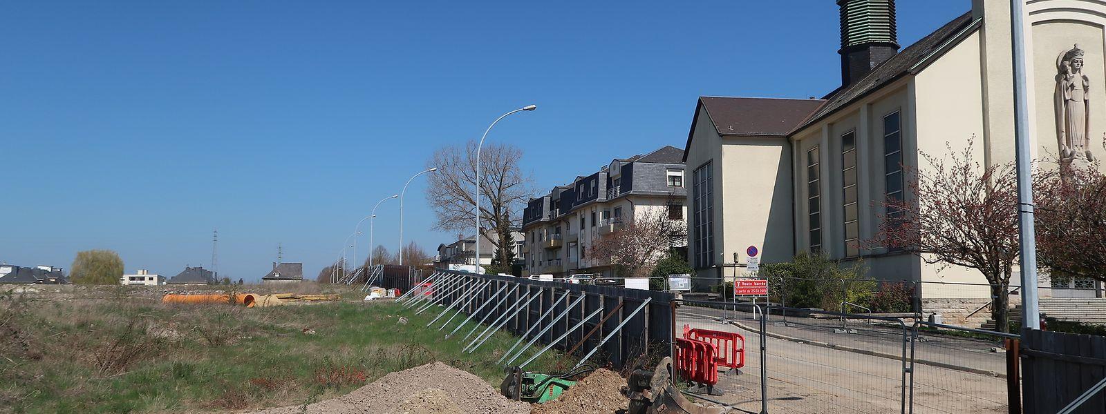 2009 wurde der Cactus Hobby in Lallingen abgerissen. Seitdem steht das Gelände brach.