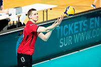 Chris Zuidberg (Luxemburg 14) / Volleyball, Novotel Cup Maenner, Luxemburg - Schottland / 03.01.2020 / Luxemburg / Foto: Christian Kemp