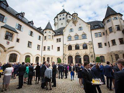 Garden Party, Château de Berg, Foto Lex Kleren