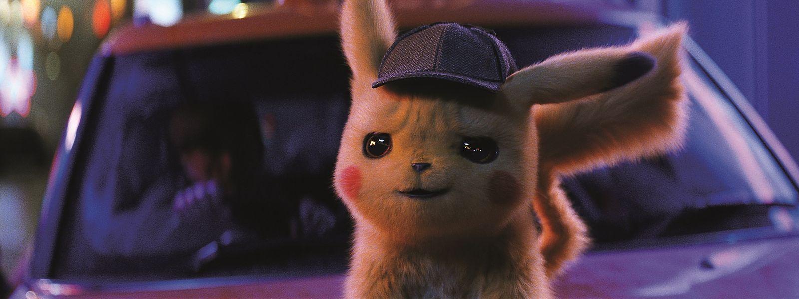 """Flauschiges FIlmvergnügen: """"Pokémon: Meisterdetektiv Pikachu"""" basiert lose auf dem gleichnamigen Videospiel."""