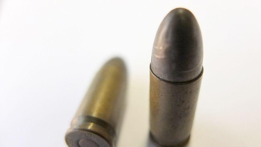 In zwei Verstecken wurden insgesamt 110 Schuss Munition sichergestellt.