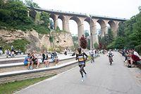 Mark Kangogo gewann den Stadtmarathon 2018. Dafür gab es auf Facebook fremdenfeindliche Kommentare.